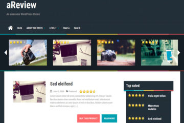 aReview Free WordPress Theme