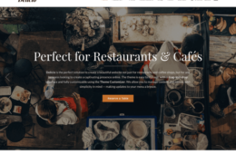 Delicio Restaurant Business WooCommerce WordPress Theme
