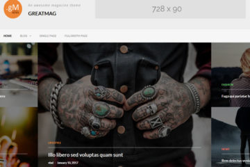 GreatMag free magazine theme