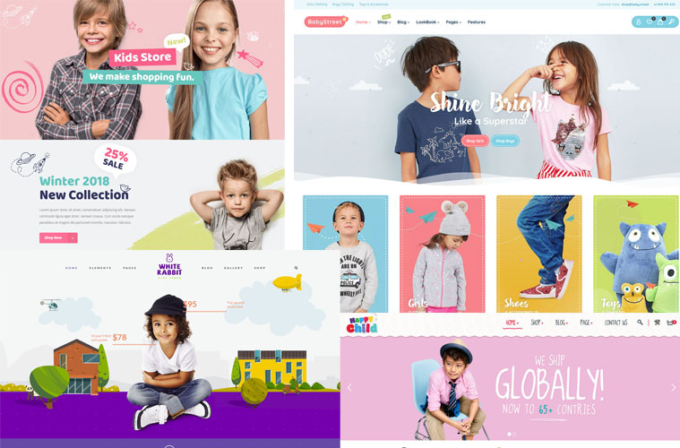 10+ BEST KIDS STORE & BABY SHOP ECOMMERCE WORDPRESS THEMES 2019